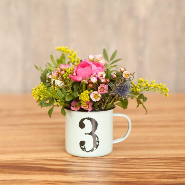 Taza Antic con flores 15 euros